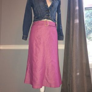 Liz Claiborne Linen Skirt